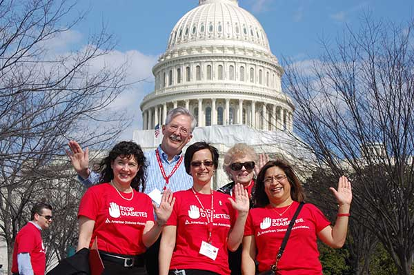 family advocate in front of capitol building