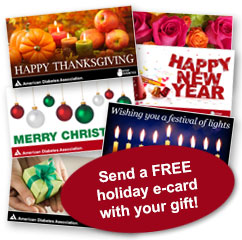 Send a free holiday ecard with your gift